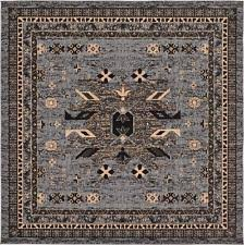 Square Rug 5x5 Traditional Persian Oriental Square Area Rugs Ebay