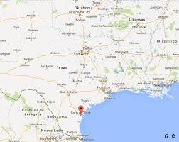 map of corpus christi where is corpus christi on map easy guides