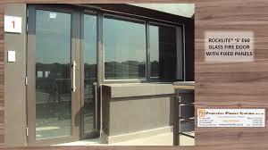 Glass Fire Doors by 102 Format U003draw