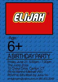 lego birthday invite gallery invitation design ideas