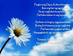 thanksgiving blessing poems tagalog prayers and christian quotes tagalog prayer poem