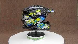 shoei motocross helmet shoei vfx w krack tc11 motocross helmet youtube