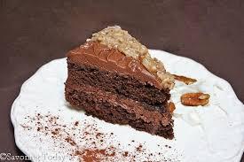 ghirardelli grand fudge cake with coconut pecan and chocolate