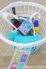 Gift Baskets For College Students Laundry 101 Printable Gift For College Students