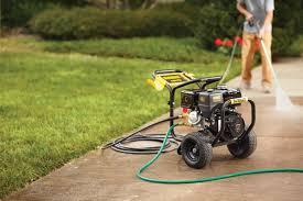 rent a power washer pressure wash your driveway garden club