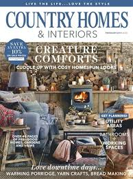 home interior magazines home interior magazine country homes interiors magazine february