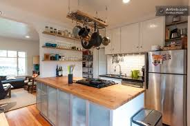 kitchen island with butcher block butcher block countertops that will last for generations