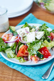 how to make the best diner style greek salad kitchn