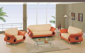 cozy design orange living room set lovely decoration vintage