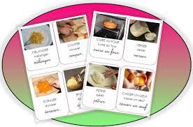 vocabulaire de cuisine les actions en cuisine pépinette à l ecole