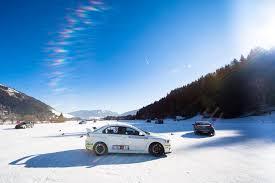 subaru winter ice driving st martin chalets austria