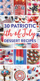 30 red white and blue 4th of july dessert recipes on love the