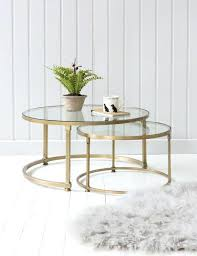 gold and glass table gold glass end table large top coffee accent with drawers tall side