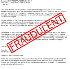 scams involving the federal reserve name federal reserve bank of