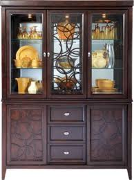 rooms to go curio cabinets cindy crawford home highland park ebony 2 pc china cabinet cindy