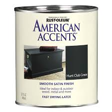 shop rust oleum american accents hunt club green satin enamel
