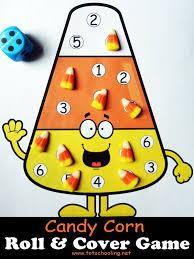 candy corn roll u0026 cover math game math games candy corn and