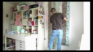 how to hang a wall mural the easy way youtube how to hang a wall mural the easy way