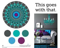 what goes well with blue colors that go well with turquoise blue purple wedding color