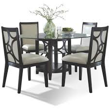 furniture kitchen table espresso 5 dining set planet collection rc willey