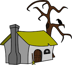 clipart witch u0027s cottage