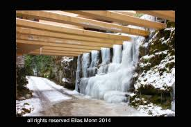 falling water house with snow and ice u2013 elias monn