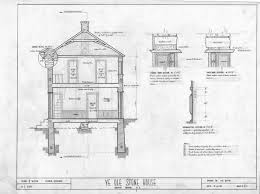 blueprints of a house cross section details michael braun house rowan county north