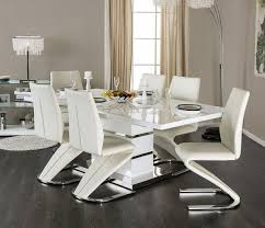 ocfurniture furniture of america midvale cm3650t white dining shop furniture of america midvale white dining set at discounted price lowest priced contemporary white lacquer dining set in orange county and la