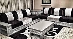 canape marocain wenge gris duz noir et altin gris salon marhaba salon marocain