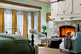 Houzz Bedrooms Traditional Turquoise Fireplace Bedroom Traditional With Wood Trim Sitting