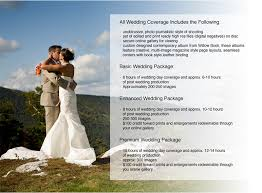 wedding photography packages wedding photography packages and information kurt budliger