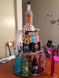 Liquor Bottle Cake Decorations 21st Alcohol Birthday Cake Diy Pinterest Alcohol Birthday
