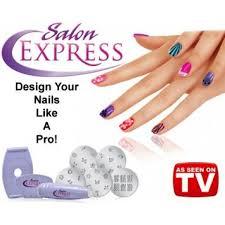 salon express u2013 nail art stamping kit