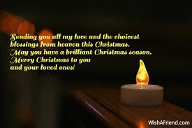 merry wishes loved ones merry and happy new