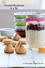 coconut macaroon mix in a jar glutenfree vegan recipe vegan richa