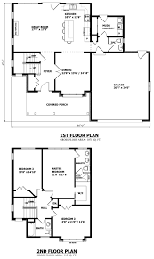 House Architecture Plans by Fine 2 Story House Floor Plans And Elevations O In Design