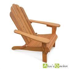 fauteuil de jardin en bois adirondack salamanca eucalyptus fsc