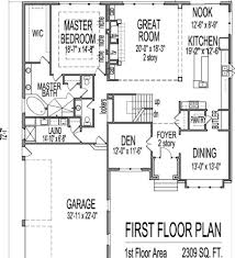 Bedroom House Plans With Basement  A  Bedroom House Floor Plans - 5 bedroom house floor plans