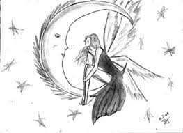 pictures easy pencil drawings of fairies for beginners drawing