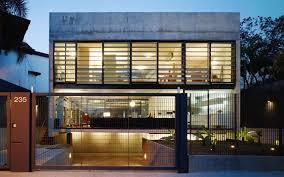 unusual modern city house volume design procedure1 on archinspire
