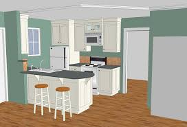 sketchup kitchen design gooosen com