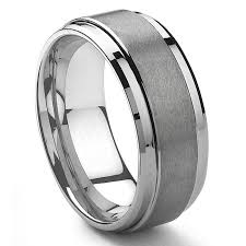 men s wedding band altoalpha tungsten carbide matte men s ring