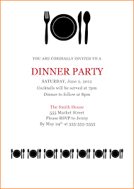 Dinner Party Invitations 11 Dinner Party Invitation Template Worker Resume