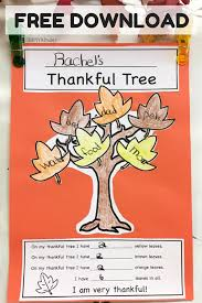 our thankful trees thankful tree simply kinder and fun math