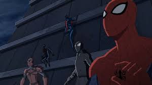 spyder knight ultimate spider men spider man 2099 and spider