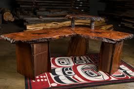 Custom Corner Desks Beautiful Rustic Executive Desk Thediapercake Home Trend