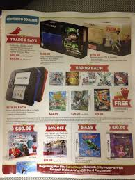 wii u black friday sale leaked gamestop black friday flyer has xbox one on page 2 ps4 on