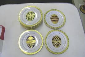 egg plates 12 faberge egg plates by muirfield