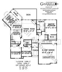 floor plans ranch etowah cottage house plan house plans by garrell associates inc