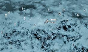 Elder Scrolls Map Image Saarthal Map Jpg Elder Scrolls Fandom Powered By Wikia